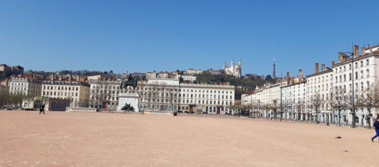 Lyon sous le confinement : «c'est comme un matin de Noël qui dure éternellement»