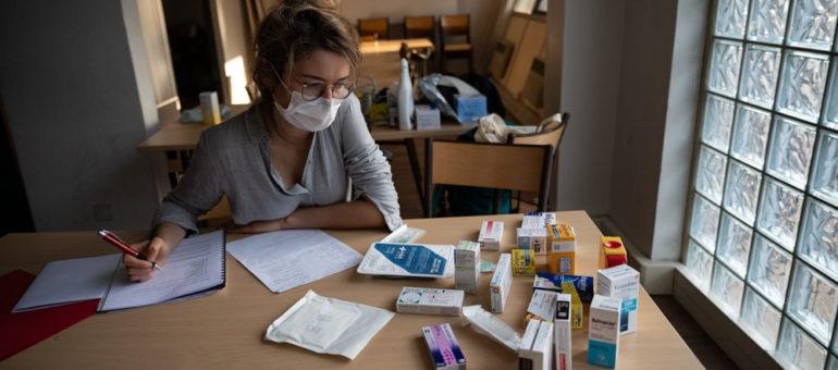[PHOTOS] Coronavirus : reportage chez SOS Médecins à Lyon