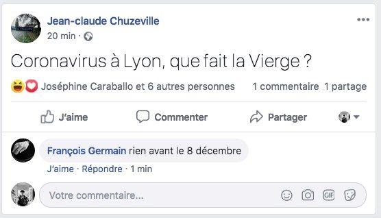 Coronavirus à Lyon: que fait la Vierge ?