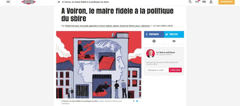 Isère : le maire de Voiron, son adjoint et ses relations douteuses