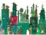 Sky Line, Cartes mère par le sculpteur plasticien