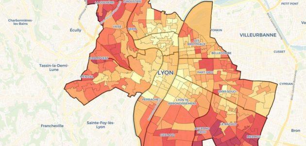 Élections municipales 2020 à Lyon en cartes 1/5 : les visages de l'abstention