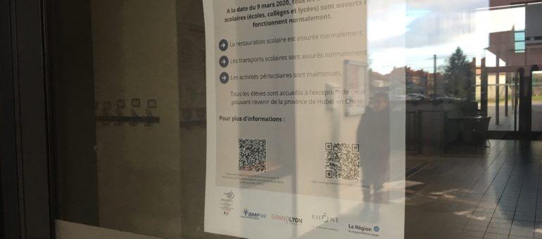 Coronavirus à Lyon : annulations en chaîne mais premier tour des élections maintenu