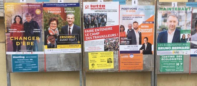 Municipales autour de Lyon: quelles listes au second tour?