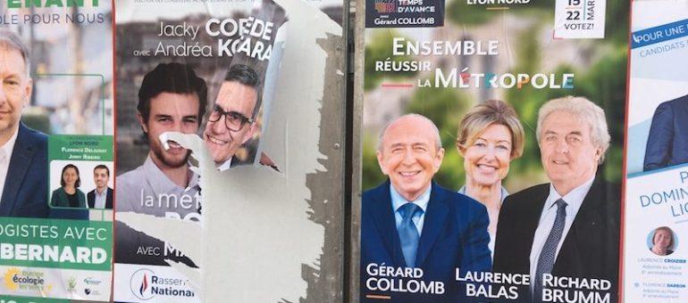 Élections métropolitaines: quelles listes au second tour?