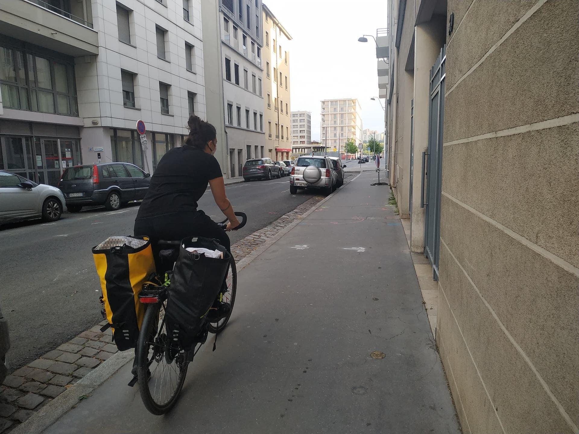 Emma vélo #Poureux