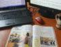 Bureau en télétravail. Photo envoyée par l'enseignant.