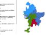 Carte des résultats aux élections métropolitaines à la Métropole de Lyon