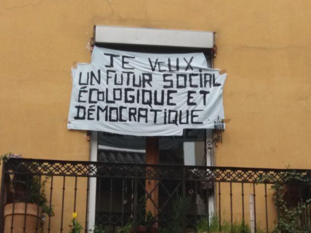"""""""Je veux un futur social, écologique et démocratique"""""""