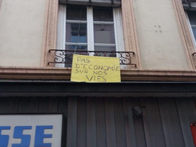 """""""Pas d'économie sur nos vies"""""""