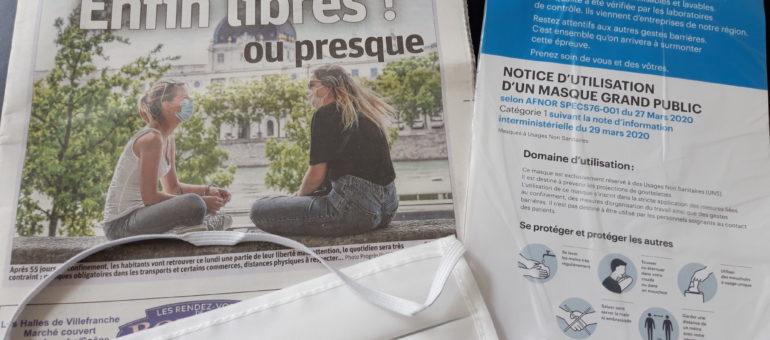 À Lyon, sous les masques, la campagne électorale