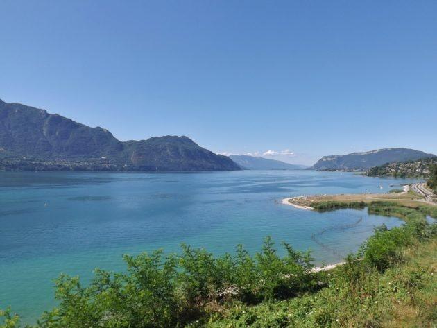 Paysage du lac du Bourget