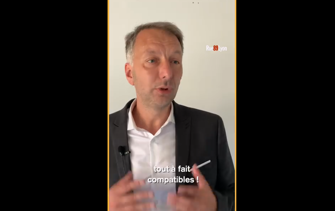[Vidéo] Bruno Bernard, que veut dire écologie à l'échelle d'une métropole comme Lyon ?