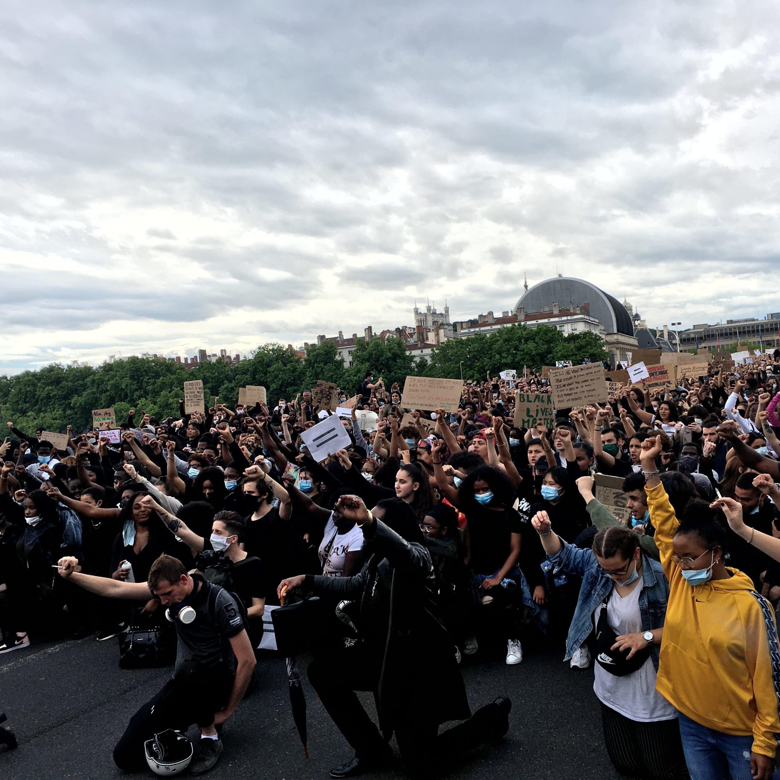 Manifestation contre les violences policières 6 juin
