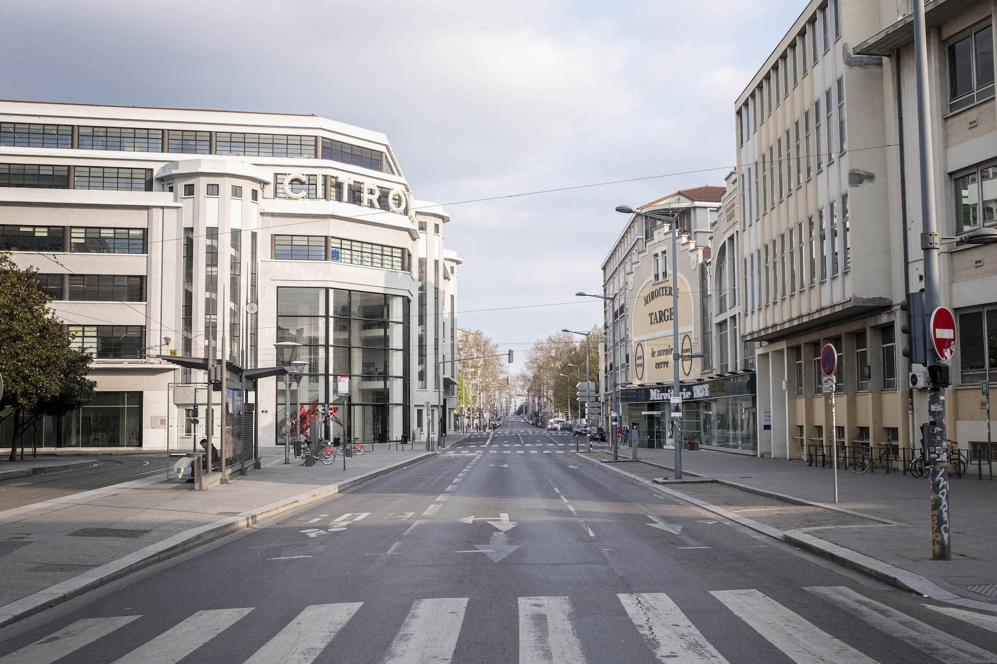 Lyon confinée - photos prises les 21 et 22 mars ©Adrien Pinon pour l'Ecole urbaine de Lyon