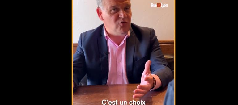 [Vidéo] Au «naturel», François-Noël Buffet ne veut plus rater la Métropole de Lyon