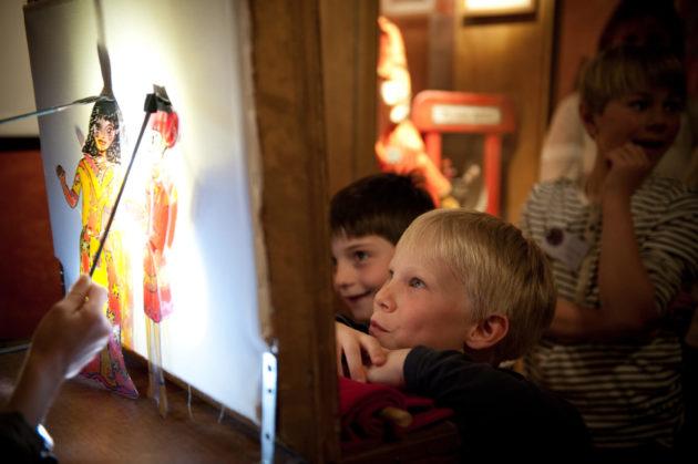 Atelier pour enfants au musée Gargane
