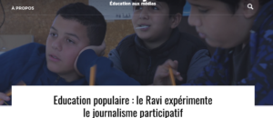 Un site Internet dédié à l'éducation aux médias propulsé par Rue89Lyon