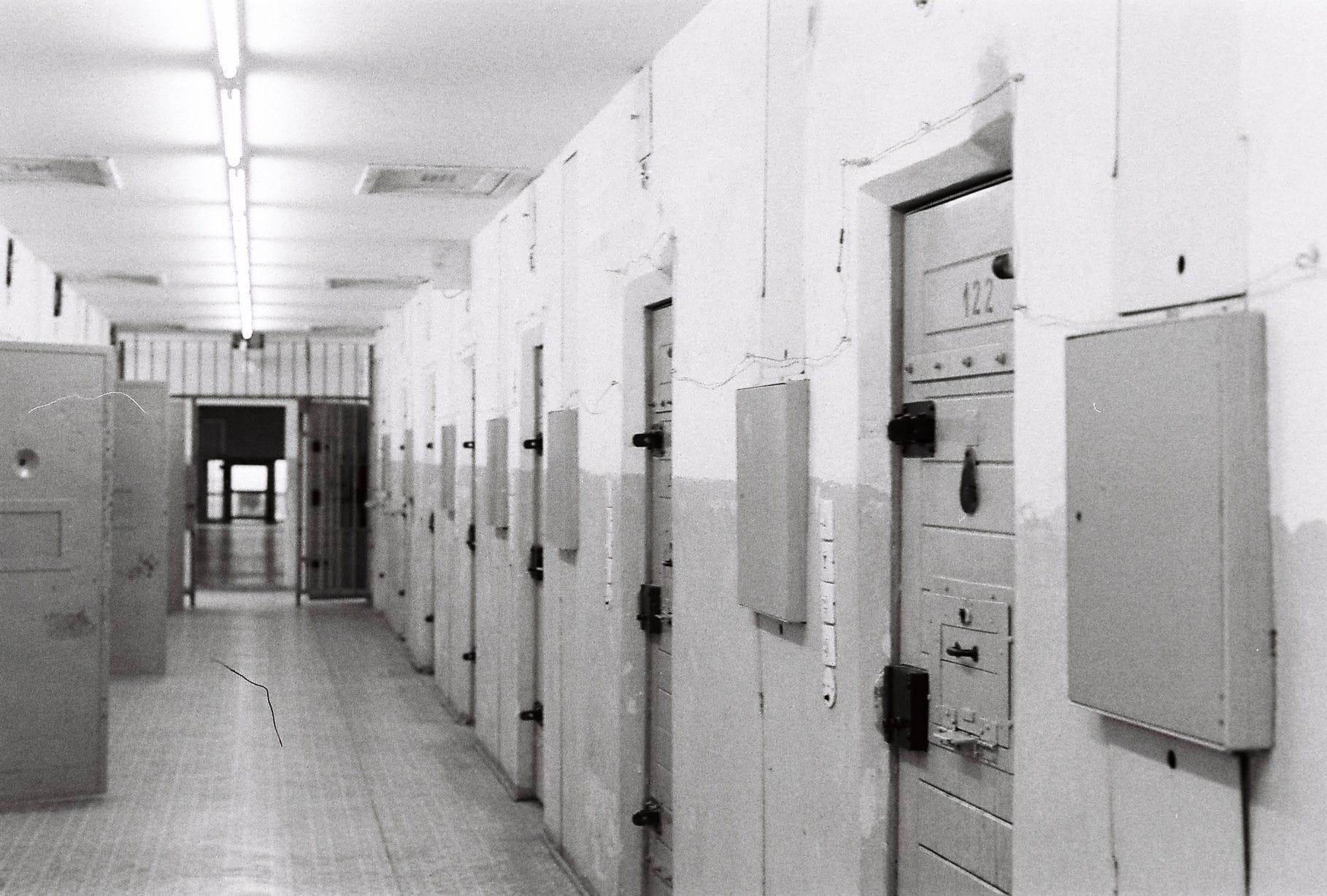 Prison de la Stasi à Berlin. ©Damien Scalia