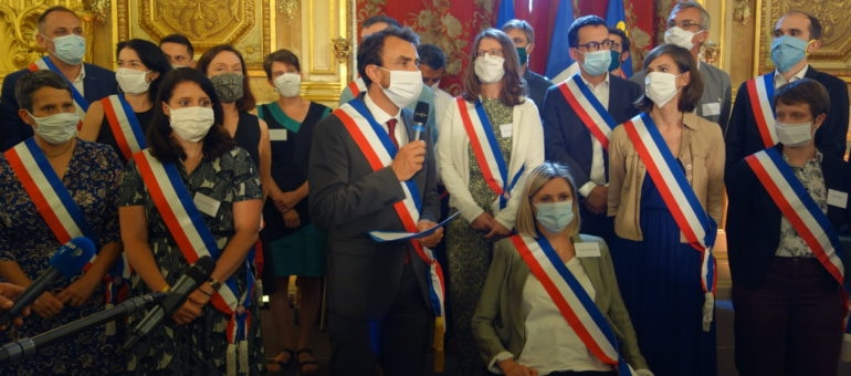 Grégory Doucet, officiellement maire de Lyon, a nommé 21 adjoint·e·s