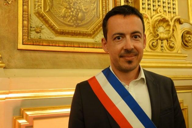 Laurent Bosetti après sa nomination d'adjoint au maire de Lyon
