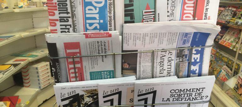 Les journaux nationaux de retour dans les kiosques à Lyon ce mercredi