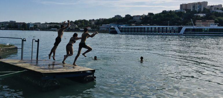 Baignade dans le Rhône: «À la piscine il y a trop de règles, ici c'est le paradis»