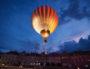 Spectacle de la montgolfière dans le ciel de Villeurbanne