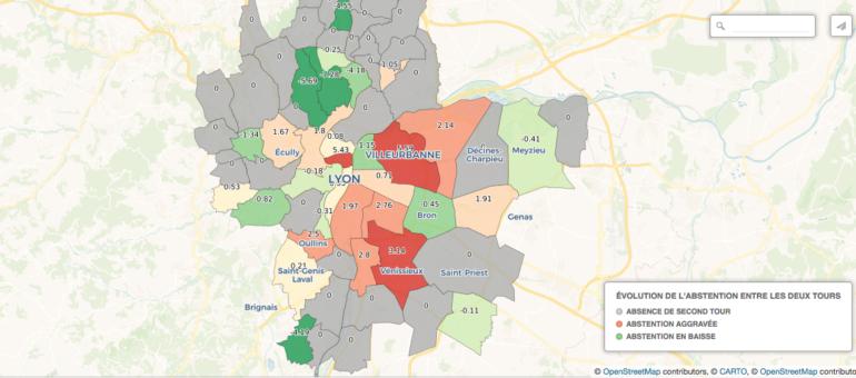 Élections 2020 à Lyon et dans la Métropole: l'ampleur de l'abstention