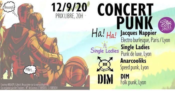 Concert Punk au Toï Toï le Zinc