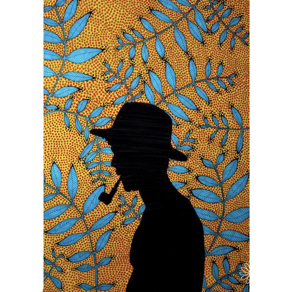 """""""Hombre homme wax"""" de Margot Nassiet"""