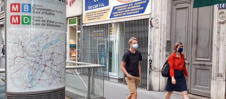 Masque obligatoire à Lyon et Villeurbanne : quels contrôles des polices?