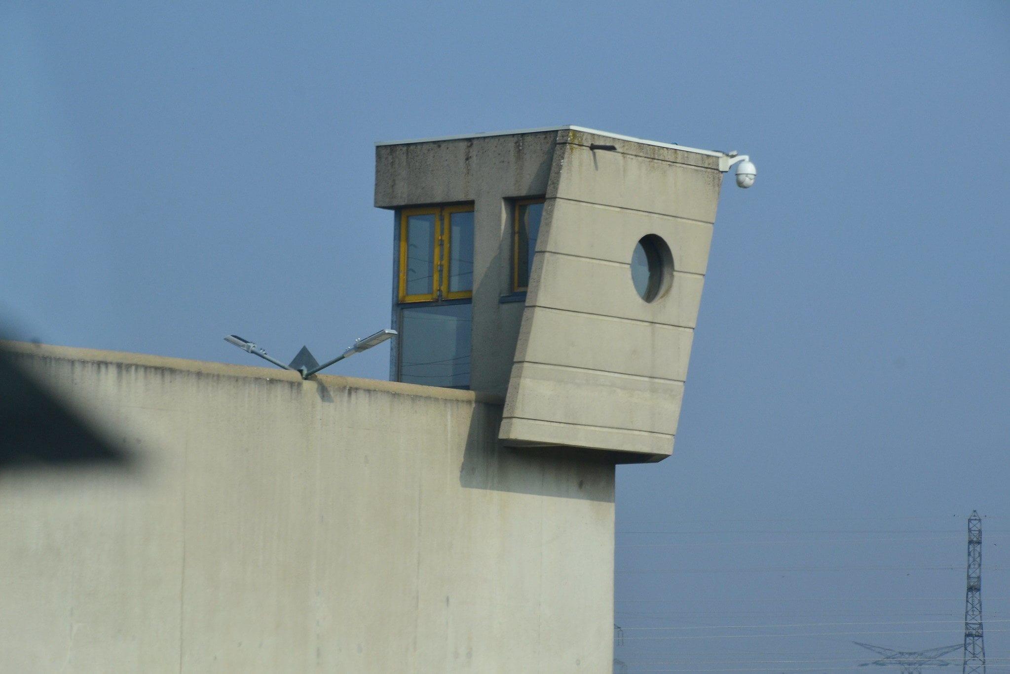 Centre pénitentiaire de Saint-Quentin-Fallavier en Isère CCJeanne-Menjoulet