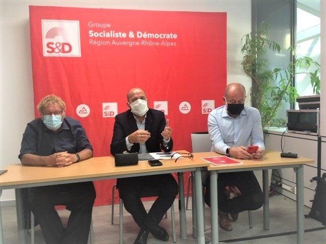 Jean-François Debat sera-t-il le candidat PS face à Laurent Wauquiez pour les élections régionales de 2021 ? Crédit : Rue89Lyon