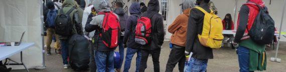 Les derniers occupants du squat Maurice Scève ont été expulsés le mercredi 27 octobre 2020, parmi eux, de nombreux jeunes étrangers. ©GB/Rue89Lyon
