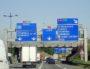 L'échangeur entre l'autouroute 46 et l'autoroute 43.