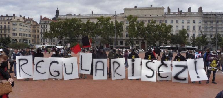 Sans-papiers à Lyon: «travailler au noir, c'est un cauchemar»