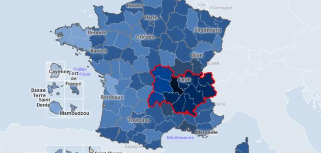 Covid-19 : à Lyon et sa région une évolution toujours stable