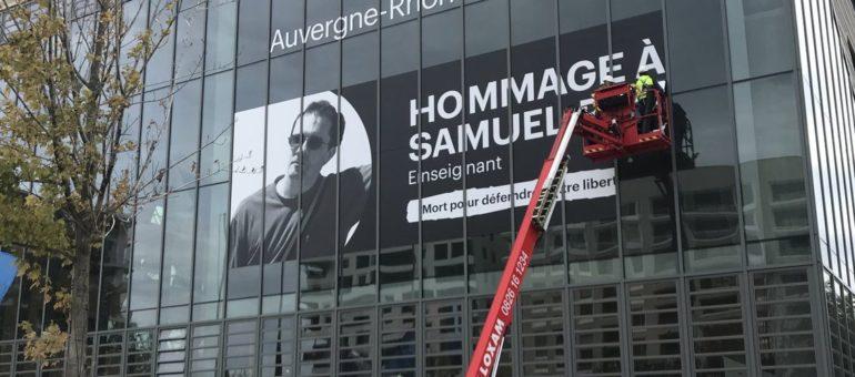 Des hommages au professeur Samuel Paty dans l'agglo de Lyon