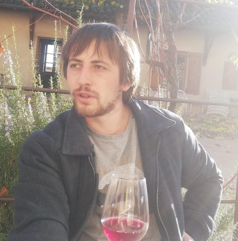 Alex Foillard, vigneron à Villié-Morgon, en novembre 2020. ©FD/Rue89Lyon