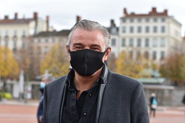 """Jérôme Dargaud, propriétaire de deux restaurants du nom de """"Fiston"""" à Lyon ©LS/Rue89Lyon"""