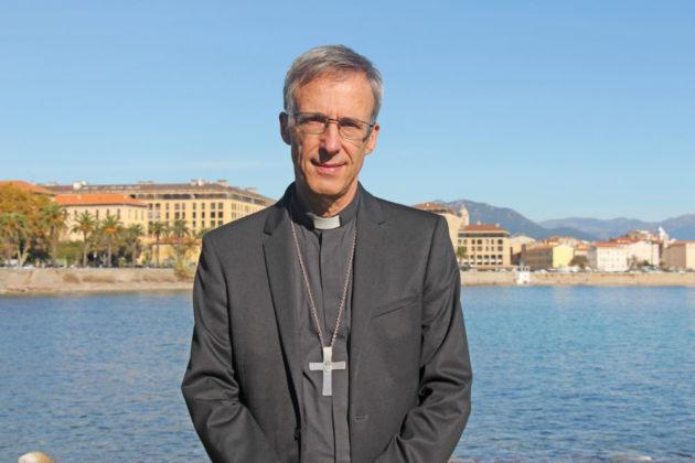 Mgr Olivier de Germay @Diocèse d'Ajaccio