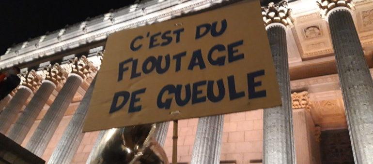 Marche des libertés à Lyon : une première manifestation contre la loi «sécurité globale»