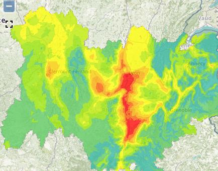 2ème pic de pollution à Lyon de la saison, mise en place de la circulation différenciée