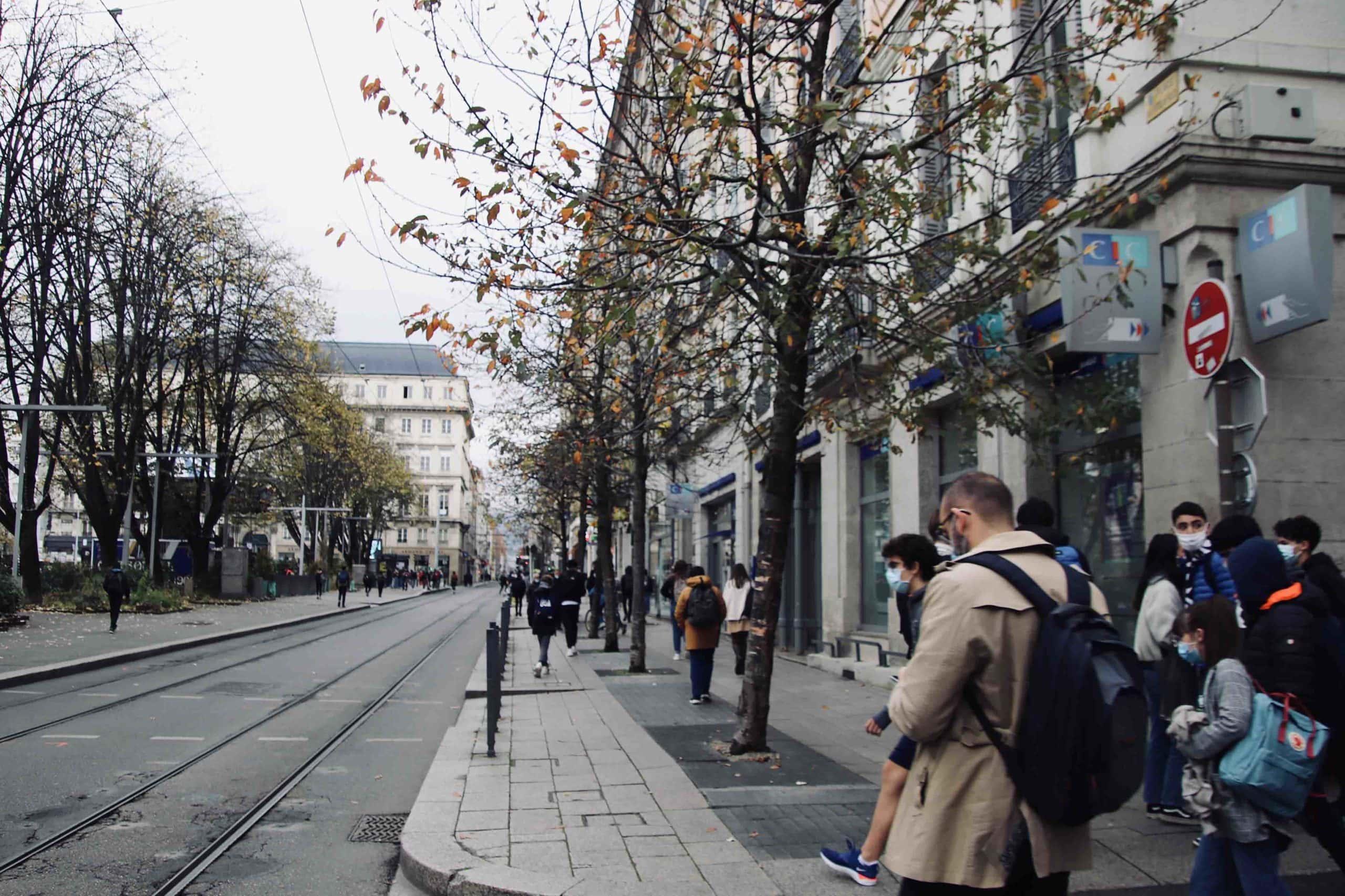 Saint-Etienne pendant le confinement automne 2020