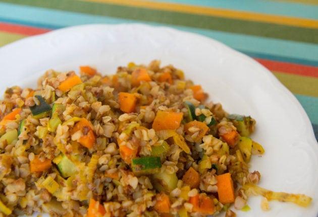 Plat végétarien. Un plat qui peut être servi à la cantine à Lyon