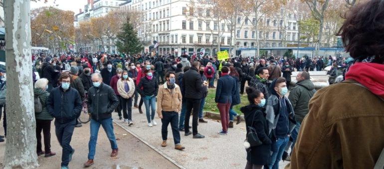 Une 3ème manifestation contre la loi « sécurité globale » ce mardi à Lyon