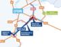 Un projet autoroutier porté par ASF prévoit de passer l'A46 Sud sur 2 x 3 voies. Crédit : ASF