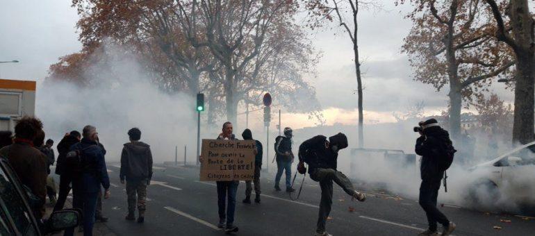 Ce samedi, 4ème manifestation contre la loi « sécurité globale » à Lyon