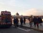 """Lors de cette deuxième manifestation contre la loi """"sécurité globale"""", les gendarmes mobiles ont utilisé un drone. ©LB/Rue89Lyon"""